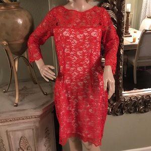 Jenifer Lopez red dress